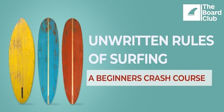 Free Beginners Surfing Crash Course tickets