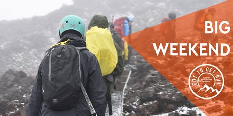 Got To Get Out BIG Weekend: Tongariro Crossing or Mt Ruapehu Climb tickets