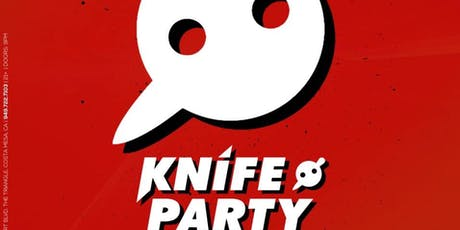 Knife Party Guestlist tickets