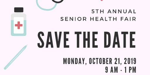 5th Annual Senior Health Fair