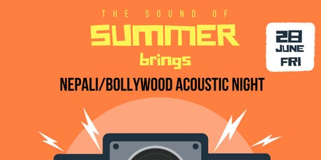 Nepali X Bollywood Acoustic Night tickets