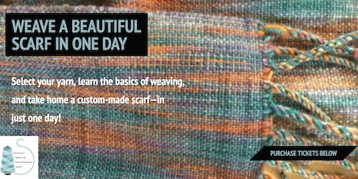 Weave a Beautiful Scarf in One Day