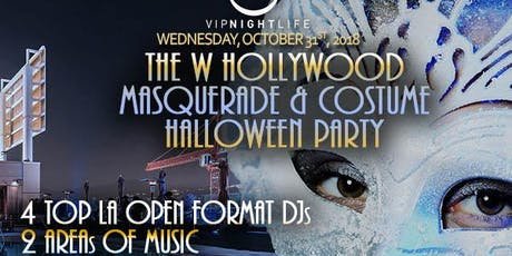 The W Hollywood Rooftop Halloween Masquerade tickets