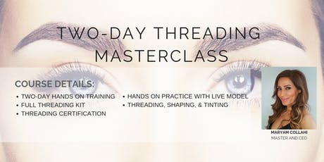Two-Day Threading Masterclass tickets