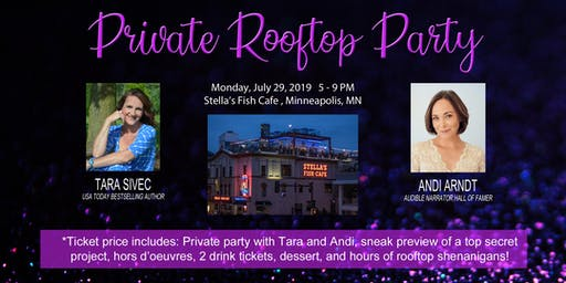 Private Rooftop Party with Tara Sivec and Andi Arndt