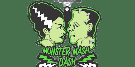 2019 Monster Mash Dash 1 Mile, 5K, 10K, 13.1, 26.2 - Raleigh