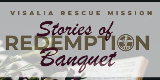 VRM Annual Banquet • Stories of Redemption