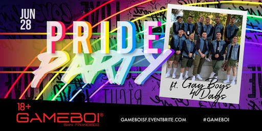 GameBoi SF - Pride Party Friday at Rickshaw Stop, 18+