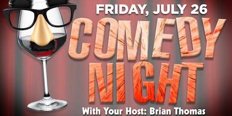 Comedy Show - Fri JULY 26th tickets