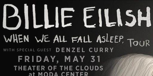 Billie elish when we all fall asleep where do we go tour