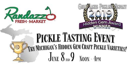 Clinton Twp, MI Pickle Tasting Event - Sat & Sun Noon-4pm