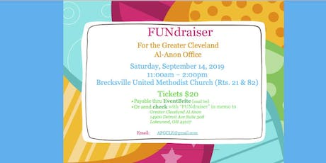 Greater Cleveland Al-Anon Information Office FUNdraiser tickets