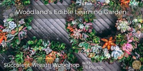Succulent Wreath Workshop 6/25 tickets