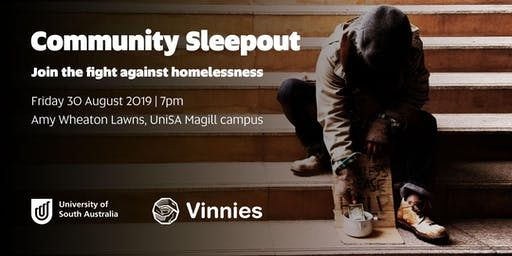 UniSA Community Sleepout - Join the fight against homelessness!