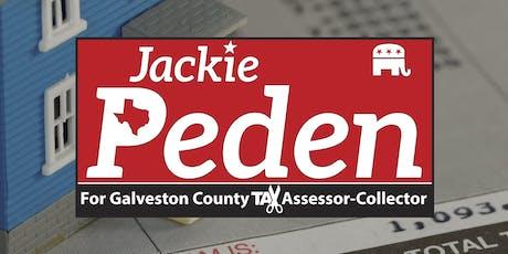 Jackie Peden for Tax Assessor-Collector Fundraiser tickets