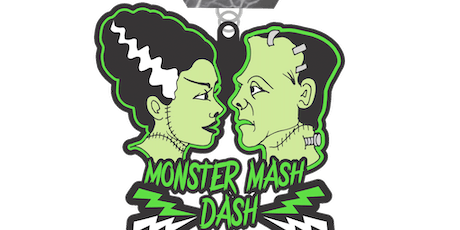 2019 Monster Mash Dash 1 Mile, 5K, 10K, 13.1, 26.2 - Green Bay tickets