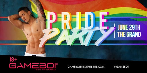 GameBoi SF - Pride Party Saturday at The Grand Nightclub, 18+