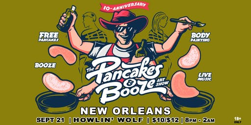 The New Orleans Pancakes & Booze Art Show
