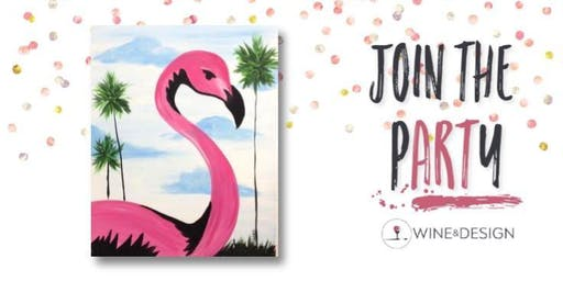 Sip + Paint | Let's Flamingle!