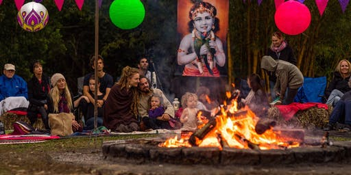 Warm Your Heart Bonfire Kirtan