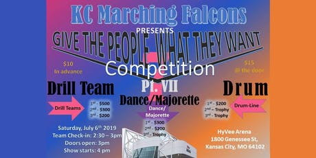 KC Marching Falcons tickets