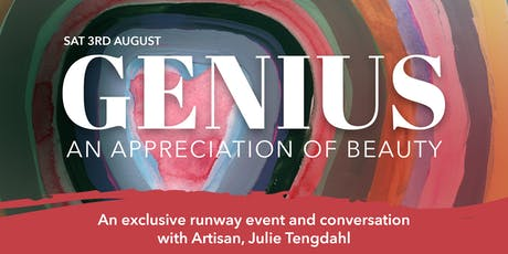 Genius by Tengdahl tickets