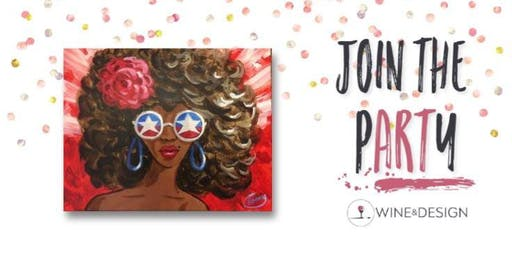 Sip + Paint | American Diva
