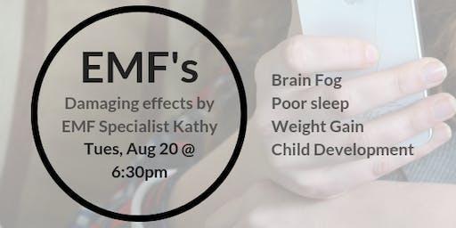 Damaging EMF's: Brain Fog, Depression, Anxiety, Restless Sleep