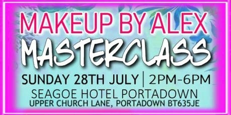 MAKEUP BY ALEX MASTERCLASS tickets