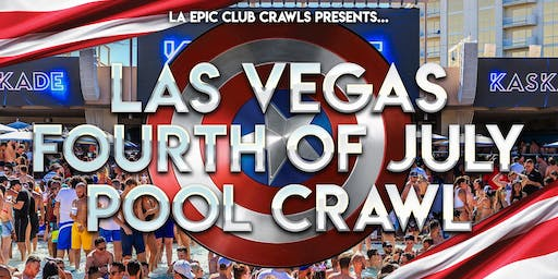 4th of July Las Vegas Pool Crawl
