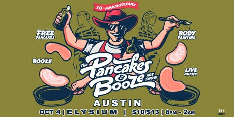 The Austin Pancakes & Booze Art Show tickets