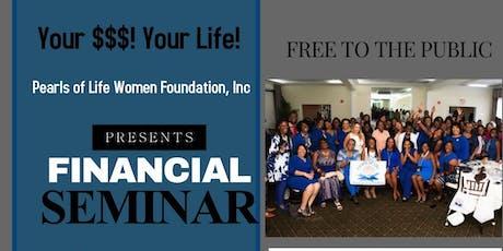 Financial Seminar Course 1 tickets