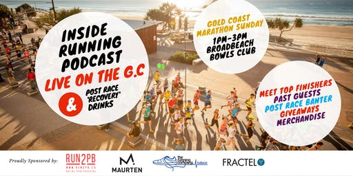 Inside Running Podcast Live on the GC + Post Race 'Recovery' Drinks