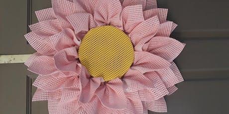 Sunflower Wreath Class @Ridgewood Winery tickets