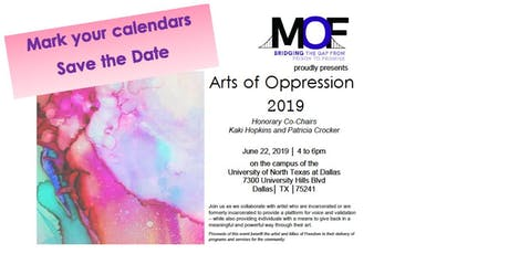 Arts of Oppression- art show and auction tickets