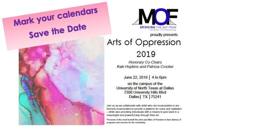 Arts of Oppression- art show and auction