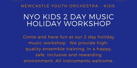 NYO Kids 2 Day Holiday Music Workshop tickets