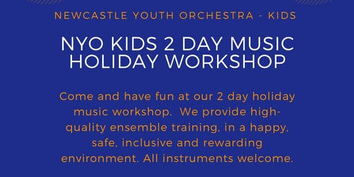 NYO Kids 2 Day Holiday Music Workshop