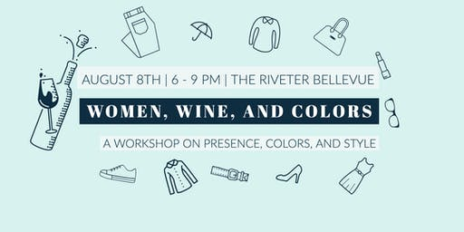 Women, wine, and colors