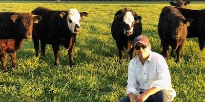 Farm visit with Joe Kovacek at Western Sydney University farm