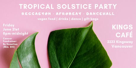 Tropical Solstice Party + Fundraiser tickets