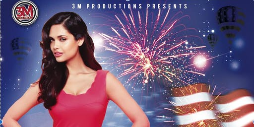 Red, White & Bollywood on July 3rd