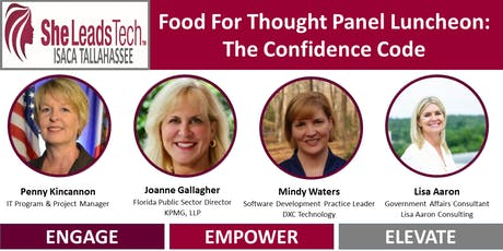 SheLeadsTech Food For Thought Luncheon: The Confidence Code tickets