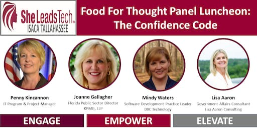 SheLeadsTech Food For Thought Luncheon: The Confidence Code
