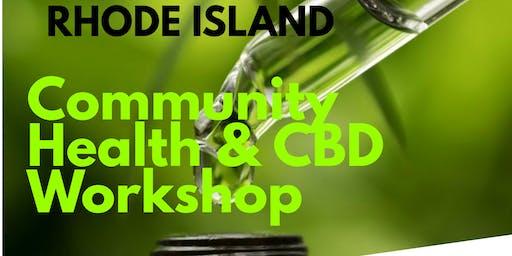 RI Community Health & CBD workshop