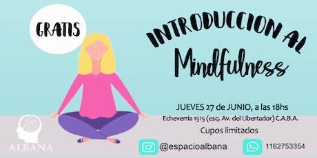 Masterclass de Introducción al  Mindfulness | GRATUITA entradas