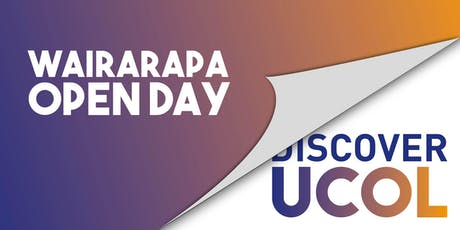 UCOL Wairarapa Open Day  tickets