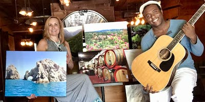 Art Auction & Live Music: Dy'Lan Ashton & La Donna Foto