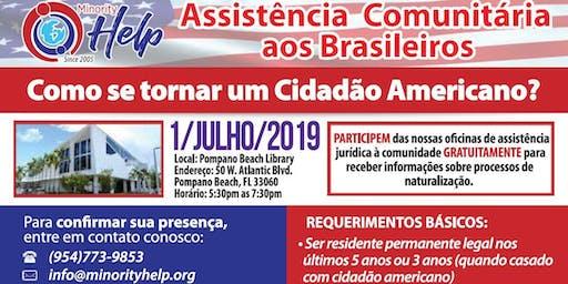 Naturalization Clinic - Oficina de naturalização (in Portuguese)