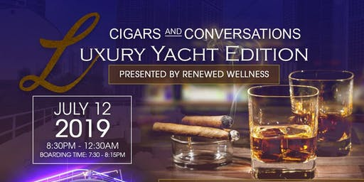 Cigars & Conversations - The Luxury Yacht Edition